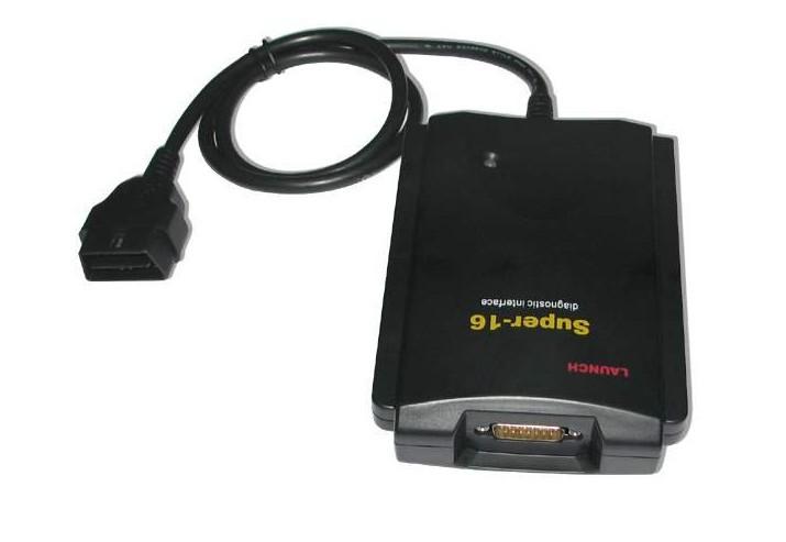 Оригинальный супер 16 диагностический разъем 16-pin OBD 2 блока