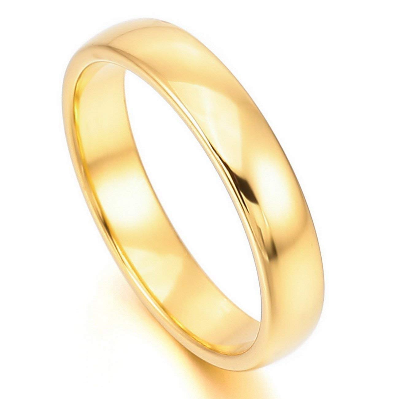 Tianyi Mens 6mm Tungsten Carbide Engagement Rings Two-Tones Polished Wedding Band