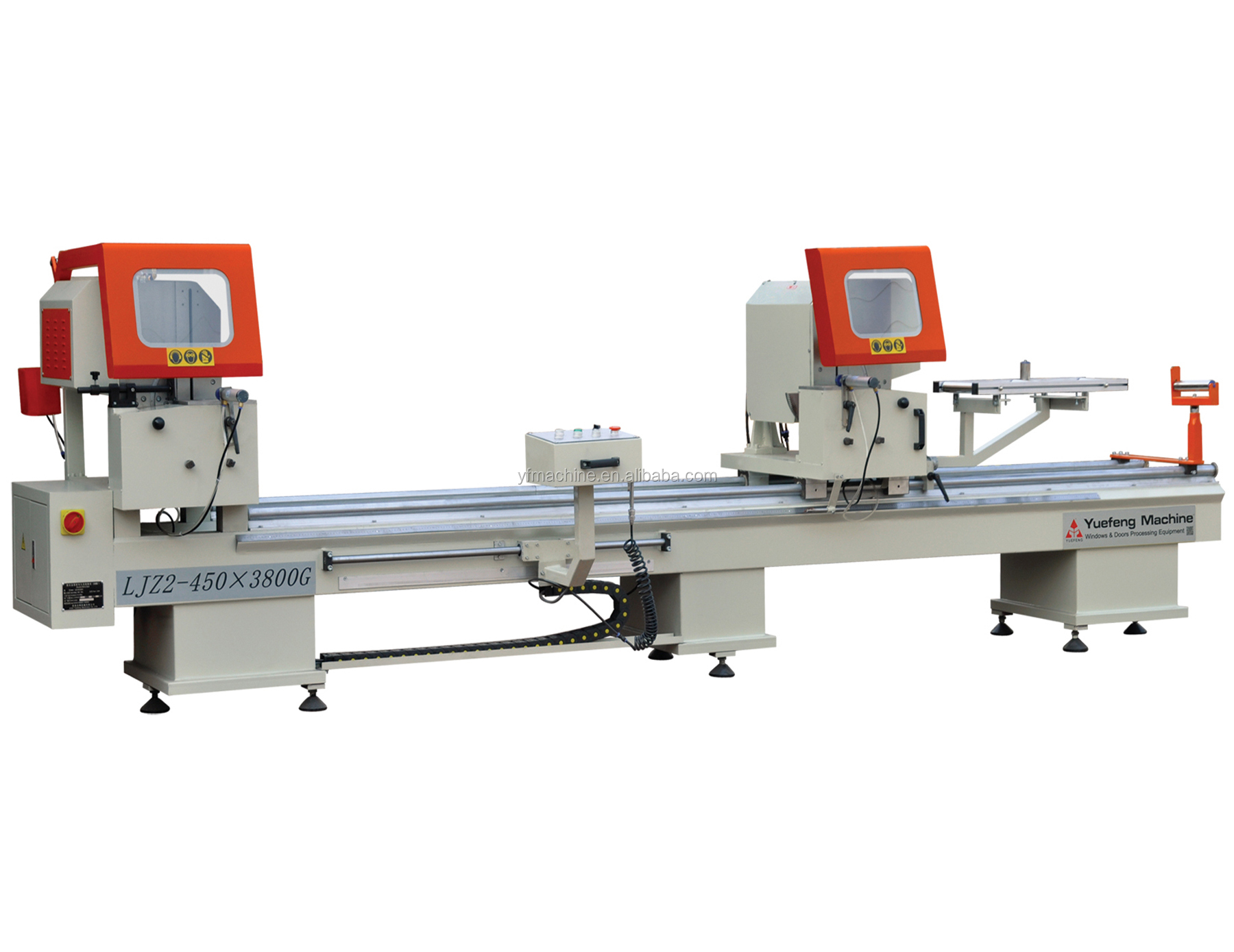 Jinan Aluminum Window Profiles Cutting Machine Upvc Window Fabrication Machine