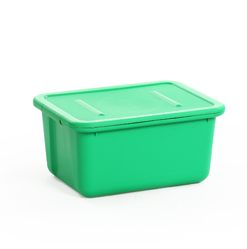 Manufacturer Directly Wholesale Bright Color Plastic Box Kids Toys Storage  Boxes/bins With Lid