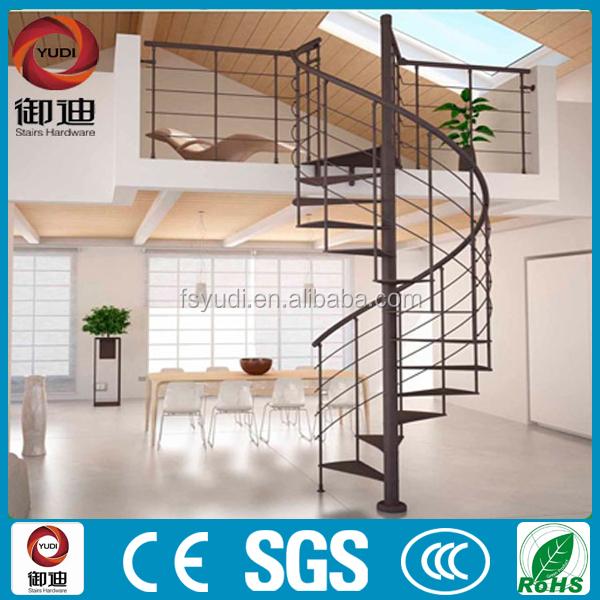 Al aire libre moderna escalera de hierro forjado precio for Escalera de madera al aire libre precio
