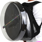 Hot selling 42cm 3D Holographic LED Fan Display bag Wholesales 3D Hologram Advertising Fan with Protection Cover
