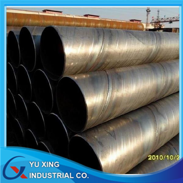 Tubos De Acero API 5L ISO3183 SSAW/DSAW Steel Line Pipe for Water, Gas and Oil Delivery
