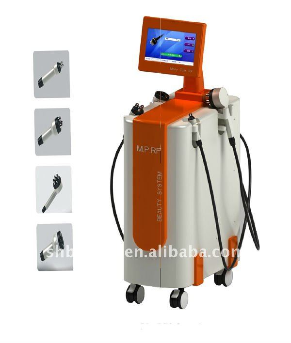 Tripolar Radio-frequency RF Vaccum wrinkle-removal and figure-shaping machine