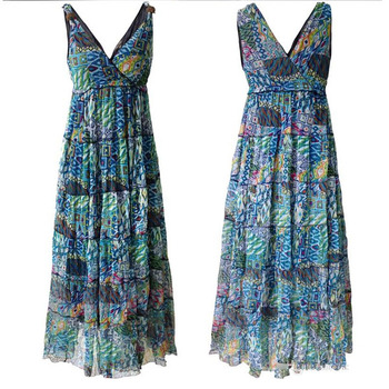 Summer Fashion Vestido African Printed Sexy Sundresses Women Dresses Online 539ed4aae2c2