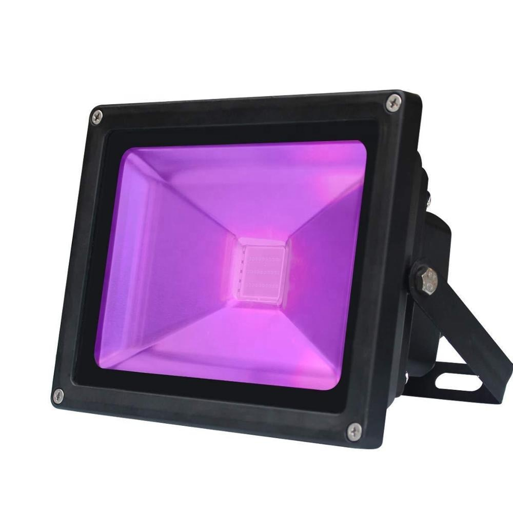 High power 395nm 365nm UV 50 watt led flood light for decoration party light