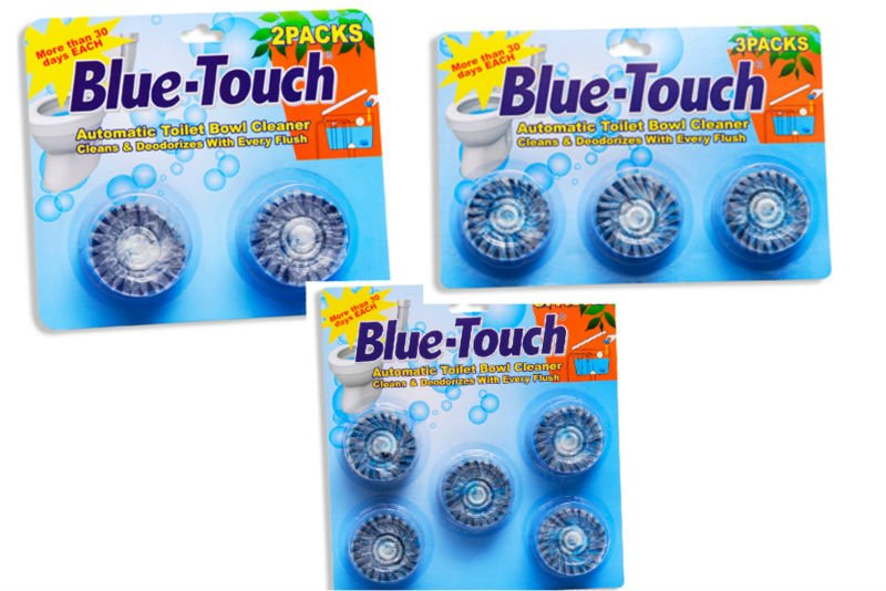 More 30days Flush Blue-touch Toilet Cleaning Products,Bathroom ...