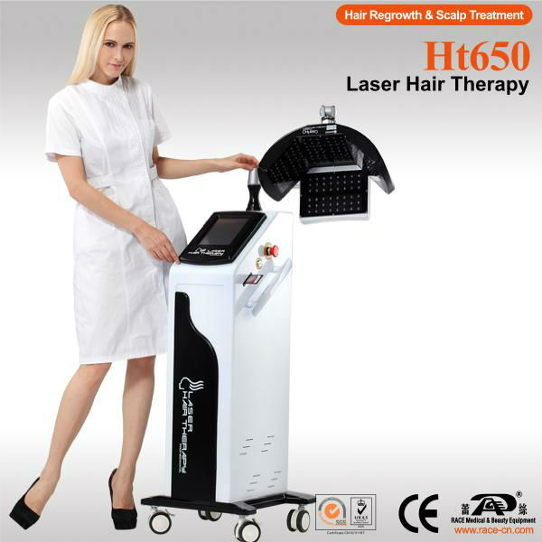 Ht650 Laser Hair Scalp Treatment Hair Growth Machine Guangzhou Offer