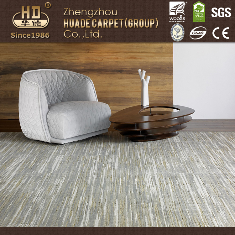 Alibaba China Supplier 100% Wool Tufted Carpet for Home and Commercial Use