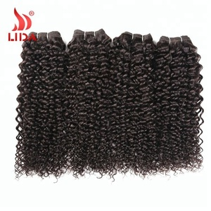 Brazilian Unprocessed Afro Kinky Curly Cheap Human Hair Weave Bundles Non-Remy