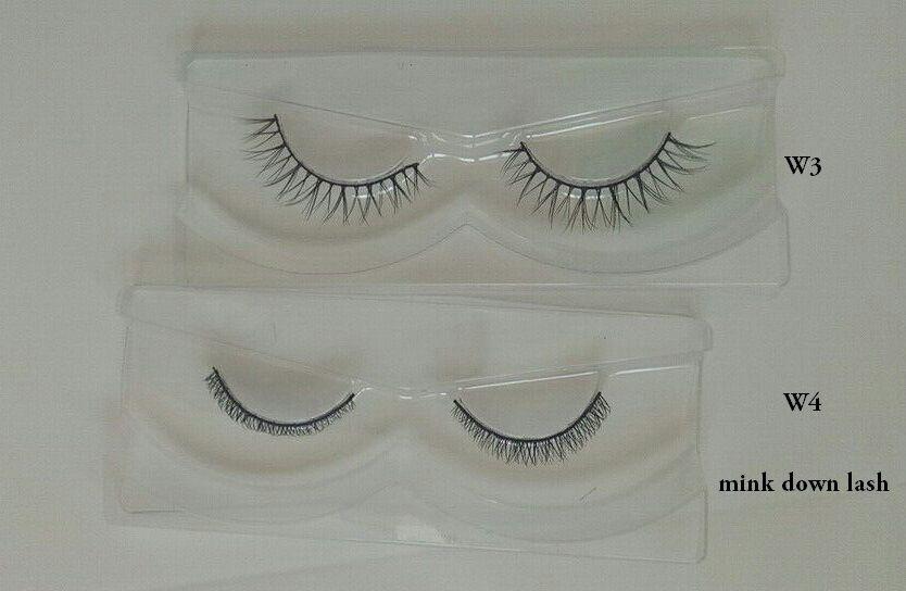 8c460237f04 High Quality Genuine Mink Eyelashes Bottom Lashes - Buy Down Mink ...