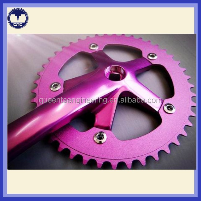 Customized CNC machined aluminum alloy bicycle parts