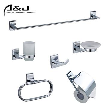 Brass Chrome Bathroom Hotel Accessories Bathroom Accessories Set Bath Hardware Set Buy