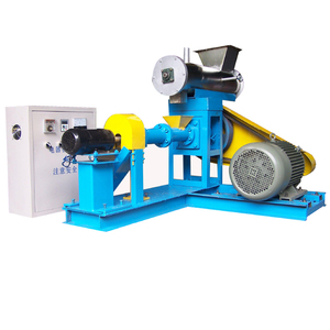 Stainless steel fish feed extruder price / animal food pellet making machine