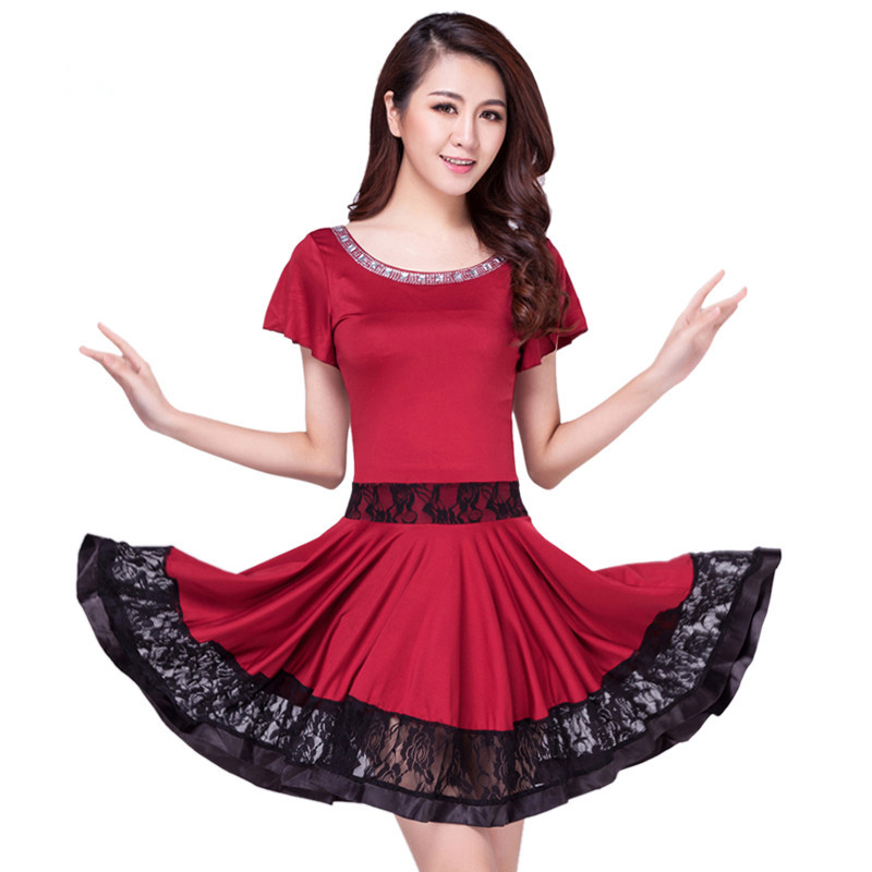 85c68808675 Latin Dance Dress Women Ballroom Dancing Dresses Latin Dance Costume Dance  Latin Dresses Tango Dress Samba Skirts 6 Color 91203