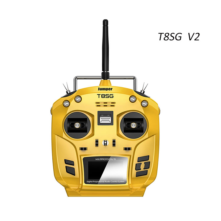 Advanced model Jumper T8SG v2.0 radio Transmitter compatible with multi protocols