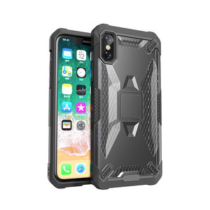 SAIBORO rugged hybrid phone case for iPhone xs Acrylic shockproof case, mobile phone accessories case for iPhone xs back cover