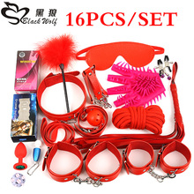 2017 new style SM set sex toy bondage restraint set for male or female set