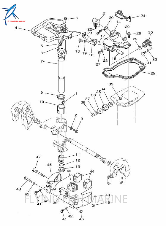 Detail Feedback Questions About Boat Motor 664 44591 A0 Mount Damper