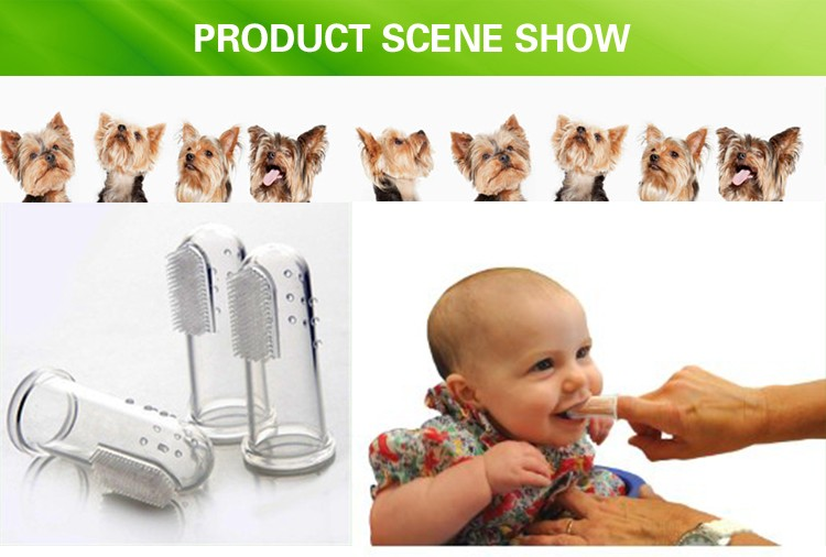 High Quality BPA Free Silicone Baby Teethers / Baby Chew Toothbrush