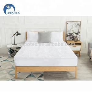 Hotel Home Wholesale 100% Polyester Custom Bed Mattress Pad