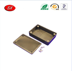 China Manufacture CNC Milling Aluminum Electronic Box,Small Aluminum Project Box With Various Color