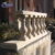 Wholesale entry home outdoor decoration polished Egyptian beige stone pillar stair handrail