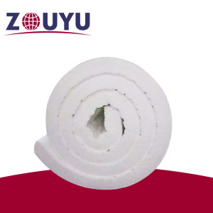 ZOUYU 1260 heat insulation refractory ceramic fiber blanket for power plant