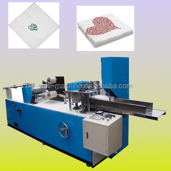 Napkin embossing folding machine for sale