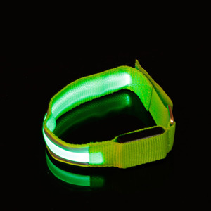 New arrival LED Arm bands Wholesale USB Rechargeable LED Flashing Sport Armband