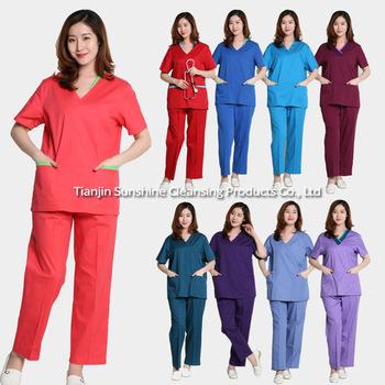 5c8022f86c9 Manufacturer Supply Nursing Scrub Suit Designs For Women - Buy ...