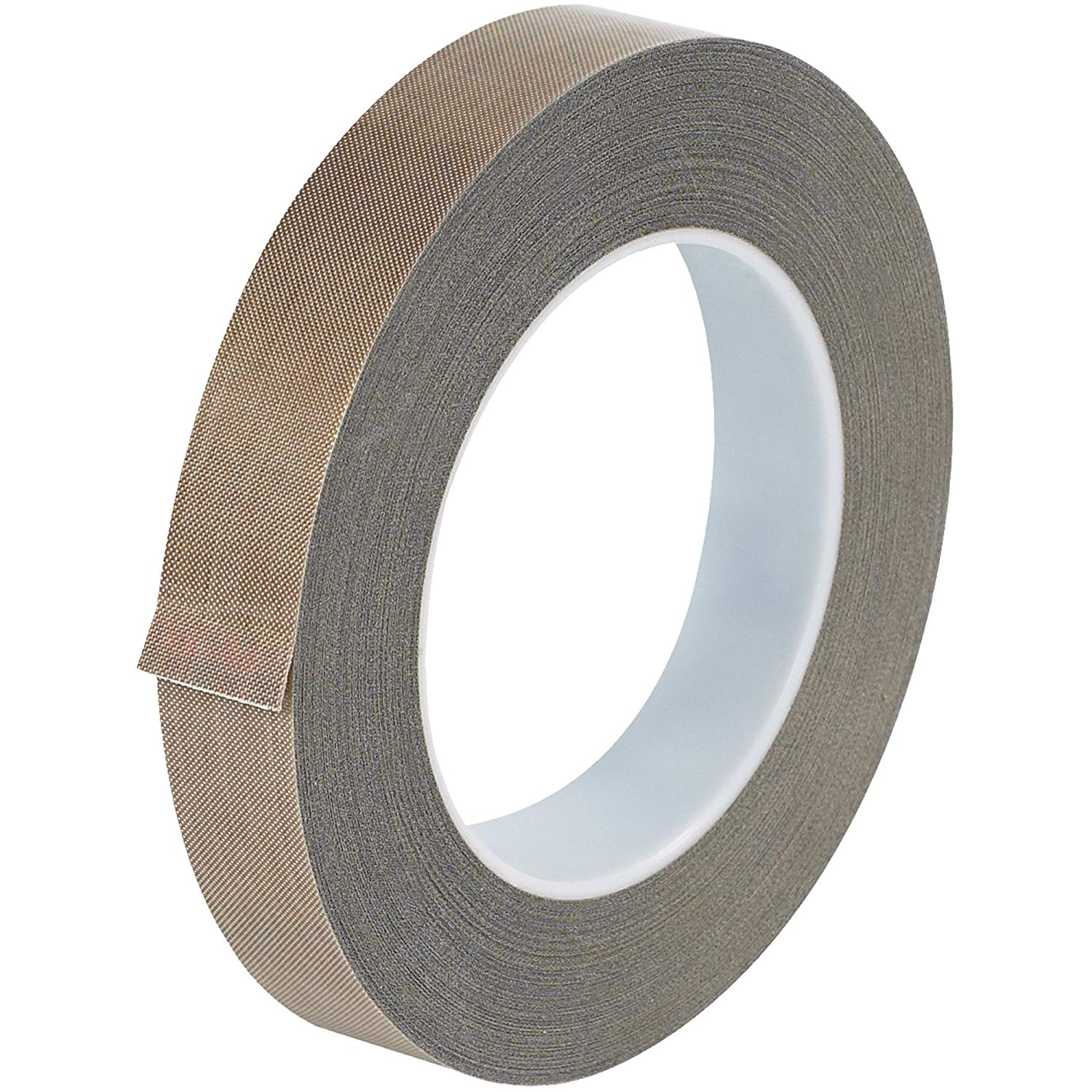 "Top Pack Supply PTFE Glass Cloth Tape, 3 Mil, 3/4"" x 36 yds. Brown (Case of 1)"