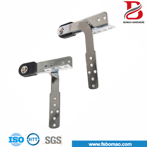 rust proof interlocking iron sofa flat pole hinge