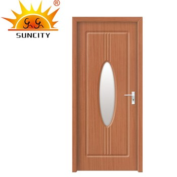 Sc P167 Villa 30 Inch Pvc Oval Gl Entry Door Pre Hung Model