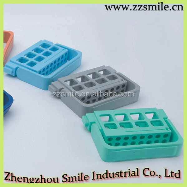 High Strength Plastic Reusable Dental 16 Holes Endodontic Block/Dental Materials S008B