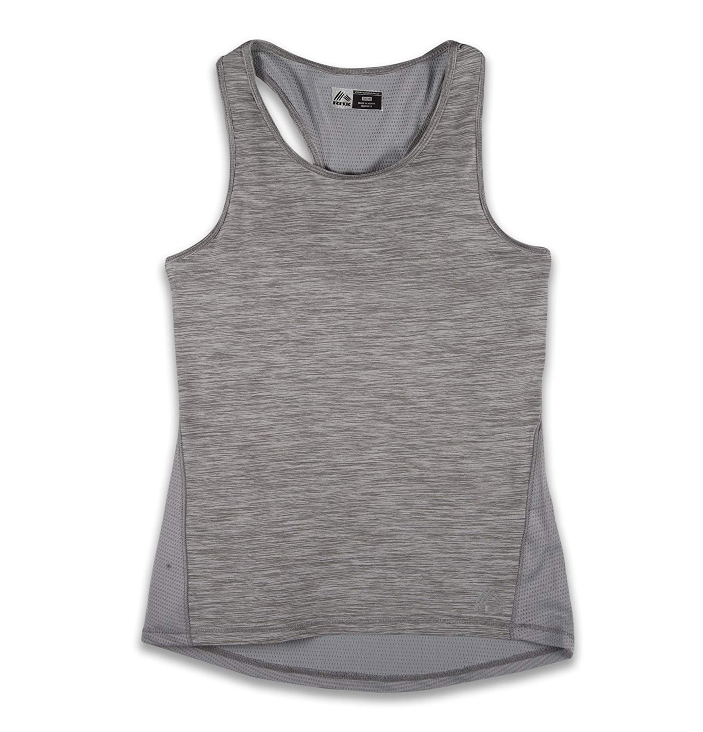 f89e82f6c8a85d Get Quotations · RBX Active Girl s Basic Print Racerback Tank Top