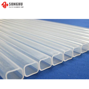 Plastic Teflon Coated Pipe Fire Resistance Rectangular Plastic Tube Teflon FEP Tube FEP Pipe/Tubing Factory