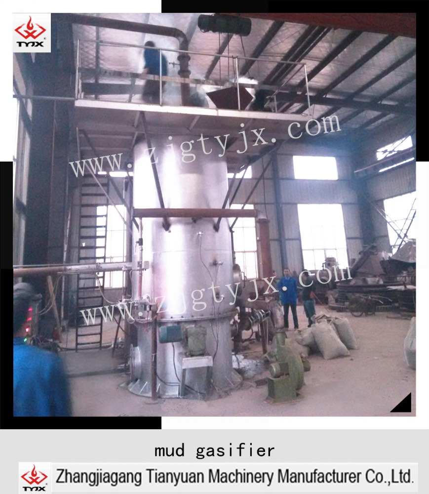 Sludge & wood chip gasifier/gasification generation machine