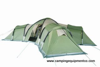 Hydra 12 Person Family Camping Dome Tent HUGE Rooms