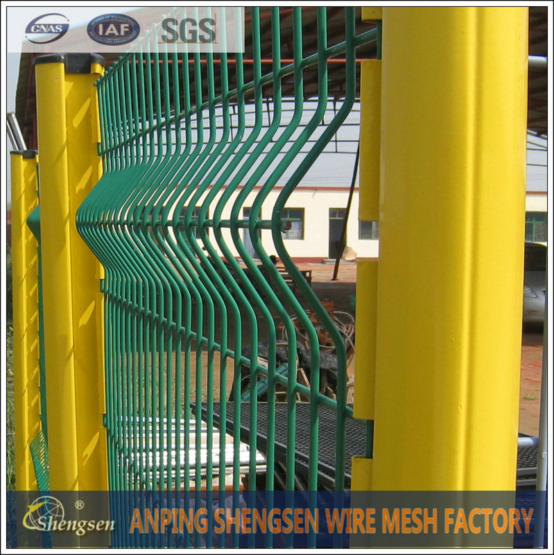 4x4 galvanized steel wire mesh panels/steel fence post/fence post hook
