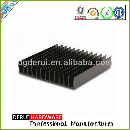 aluminum amplifier cooling amplifier heat sink