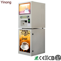Latin America Market Instant Coffee Vending Machine With Coin-Operated