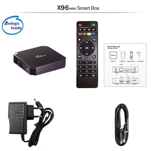 2019 Amazon Top Seller X96 Mini 1Gb 8Gb Air Mouse Amlogic S905W 4K Android 7.1 7.0 Internet TV Set Top Box