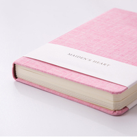 linen book cloth custom hardcover notebook printing with book sleeve