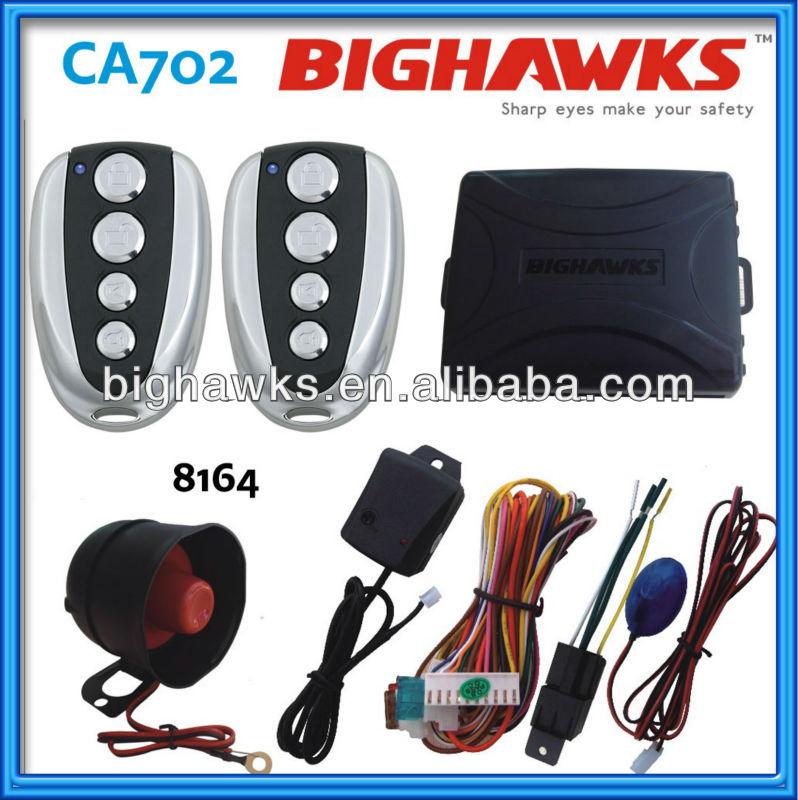 car alarm wiring CA702 8164 bighawks one car alarm wiring ca702 8164 bighawks one way car alarm system Car Alarm Vehicle Wiring Charts at mifinder.co