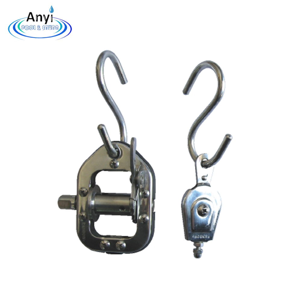 Hot sale for stainless steel swimming pool lane line hook
