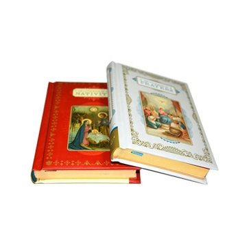 Hot foil case bound novel printing and high quality cheap hard back book printing with gold edges