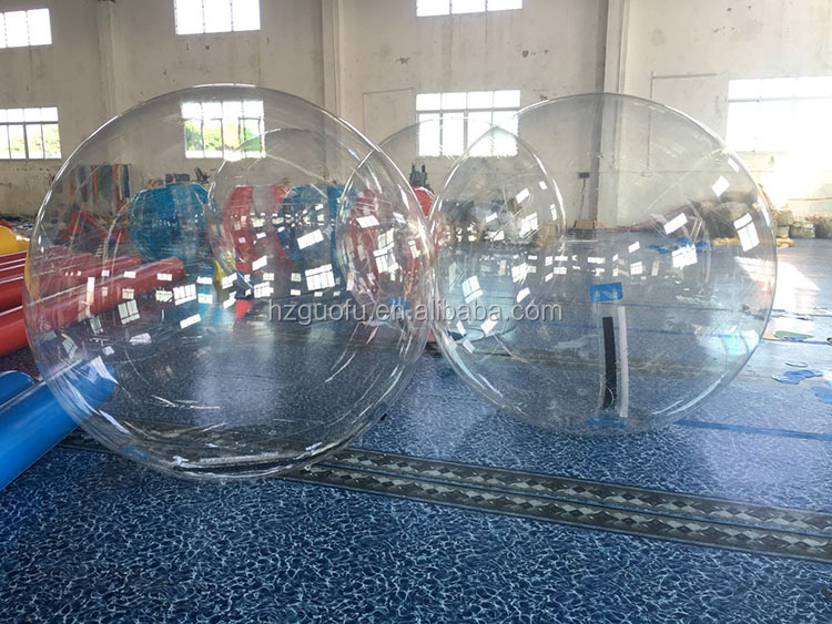 PVC Inflatable Human Walking on Water Float Bubble Zorb Roller Ball for Adults and Kids