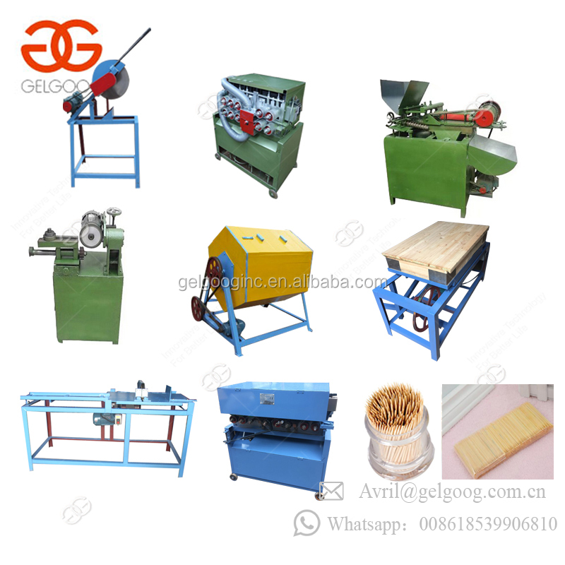 Full Automatic Factory Price Bamboo Toothpick Production Line Manufacturing Toothpick Making Machine For Sale