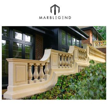 Moderne Extérieur Jardin Design Balustrade D\'escalier En Marbre ...